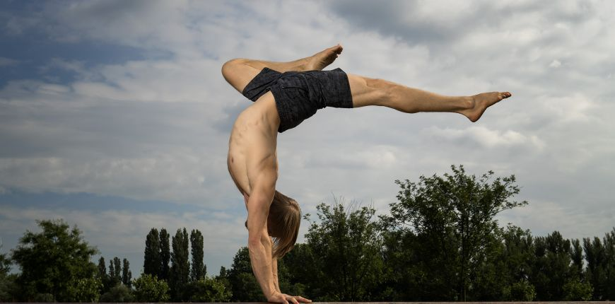 Handstand Workshop mit Garrett